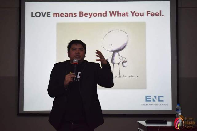 Forman Education Society Recently Organized An Event In Collaboration With Enc Every Nation Campus On Love Languages An Effective Workshop On Love