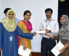 Sidra Tul Muntaha, Mariam Archer and Bushra Abbas win SBS's Sci-Biz