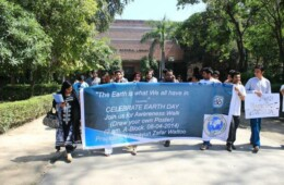 Dean Geography and Adventure Club celebrates Earth Day