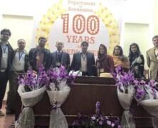 LES celebrates 100 years
