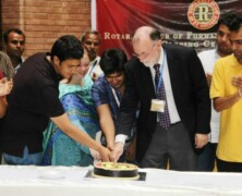 Rotaract Club holds award giving ceremony for FCC ground staff