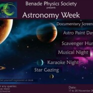 BPS to hold Astronomy Week