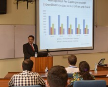 LES holds a lecture on The official estimates of poverty in Pakistan, what is wrong and why?