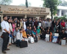 LES arranges trip to The Federation of Pakistan Chamber of Commerce and Industries, Lahore