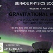 BPS to hold a talk on Gravitational waves Detection