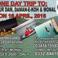 Register for FJS trip to Khanpur Dam, Damn-e-Koh and Monal