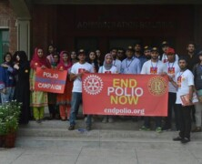 RC arranges Polio Awareness Walk