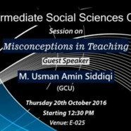 ISSC to hold a session on Misconceptions in Teaching