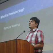 FCS holds a talk on Freelancing