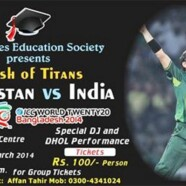 FES presents screening of the ICC World Twenty20 India-Pakistan match
