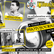 FJS to hold A Three Day Photojournalism Workshop
