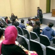 EES arranges preliminary session for LLF volunteers