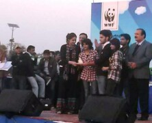 EWC wins 3rd prize at WWF-Pakistan's Nature Carnival