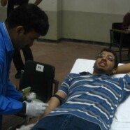 SBS, LES & RCYG organize blood donation drive