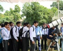 BPS holds Solar Observation Day