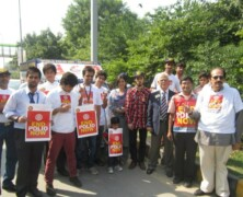 Rotaract Club participates in Polio Drive