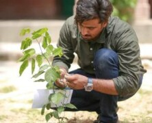 FJS holds Tree Plantation Drive for 14th August