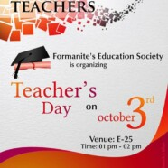 FES to commemorate Teacher's Day