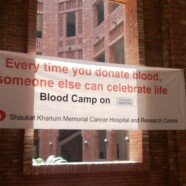 Blood donation camp for cancer patients