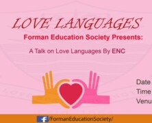 FES to hold a talk on Love Languages by Dan Hernandez