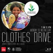 IAS in collaboration with Akhuwat Arranges Clothing Drive