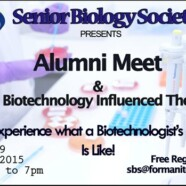 Biotechnology and Biology Alumni Meet