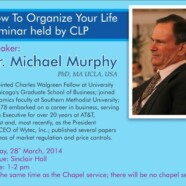 CLP to hold seminar on 'How To Organize Your Life'