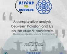 IAS Organizes A series of Talks titled 'Beyond the Borders'