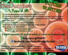 SBS launches BioDucation Project