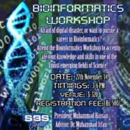 SBS to hold workshop on Bioinformatics