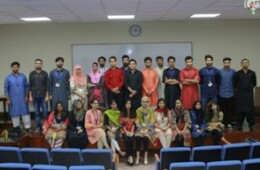 CBS holds a motivational speech by Momin Saqib