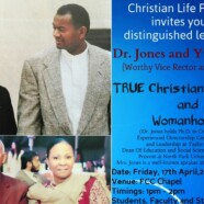 CLP to organize lecture on True Christian Manhood and Womanhood