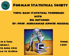 FSS holds a lecture on Basic Statistical Techniques with Big Outcome