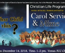 CLP to hold Christmas Carol Service and Mime