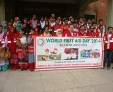 Emergency Services commemorate World First Aid Day