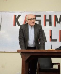 IAS Organizes First Session of Kashmir Talks
