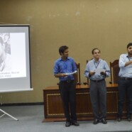 Tagore remembered by History Dept and ELS