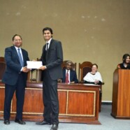 Muhammad Samran awarded certificate of honor