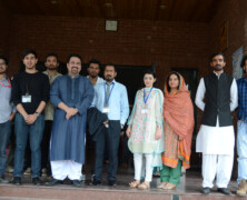FJS arranges a lecture by Haseeb Khan on Self Branding