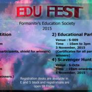 FES organizes EDU FEST