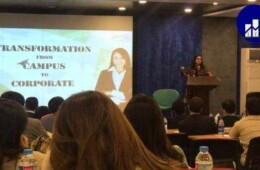 LES Organizes a Seminar on Transformation from Campus to Corporate