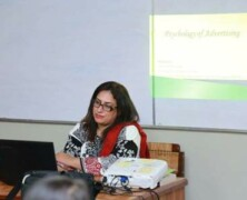 APS conducts informative talk on advertising in Psychology