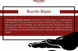 FES holds Buzzer Bajao in Magna'18