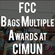 FCC bags multiple awards at Comsats International MUN 2016