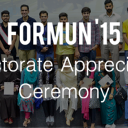 FORMUN'15 Directorate Appreciation Ceremony