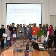 FSS organizes a Workshop on Introduction and Data Analysis In R