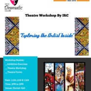 Join FDC's 3-day theater workshop
