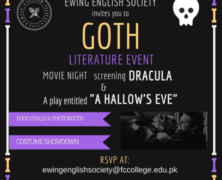 EES presents Goth Literature Event