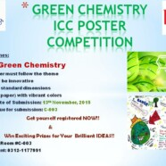 ICC to hold Green Chemistry Poster Competition