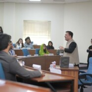 LF arranges Story telling session with Mr Haseeb Khan